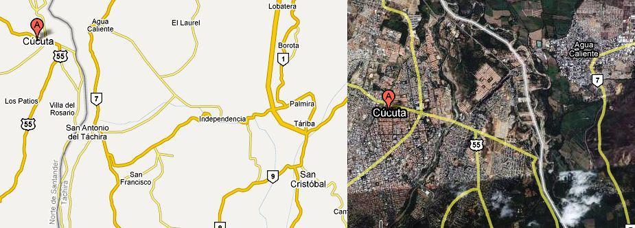 Mapa_Ruta_Via_Cucuta_San_Cristobal